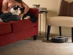 Bauart des Roomba Saugers