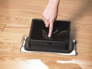 saugroboter der feucht durchwischt im vergleich irobot. Black Bedroom Furniture Sets. Home Design Ideas